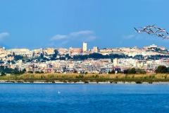 Cagliari vista dal Poetto - foto Frank Harres