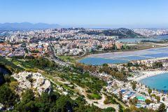 Cagliari vista dalla Sella del Diavolo - foto Frank Harres